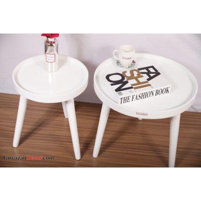 میز جلو مبلی لبه دار