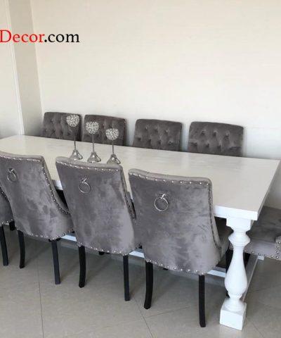میز ناهار خوری پایه ستونی