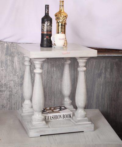 میز عسلی مدل انگلیسی بلوط ارتفاع 60