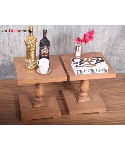 میز عسلی تک پایه انگلیسی