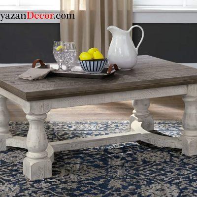 میز چوبی انگلیسی یک طبقه